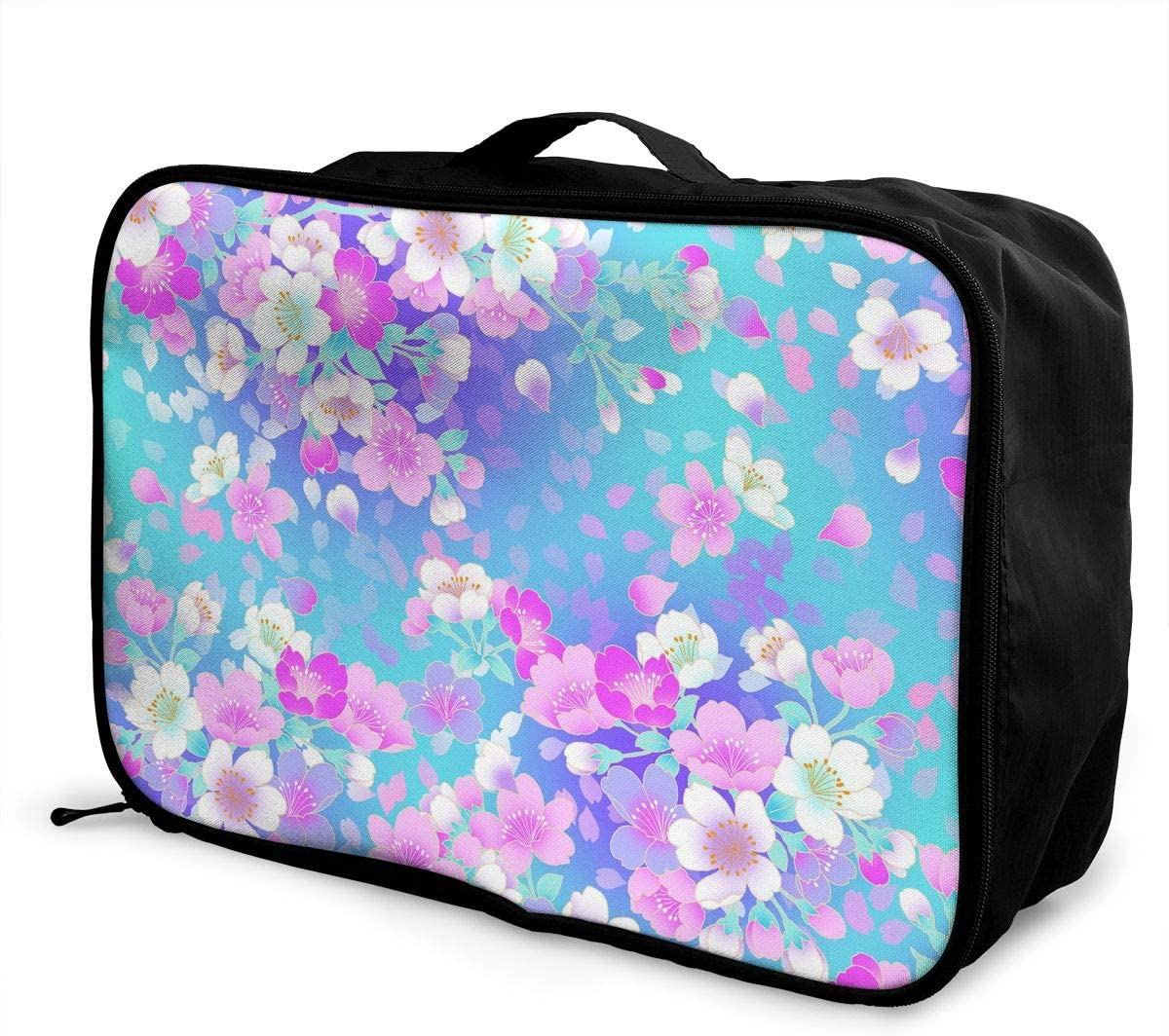 Travel Luggage Duffle Bag Lightweight Portable Handbag Cool Modern Pattern Large Capacity Waterproof Foldable Storage Tote