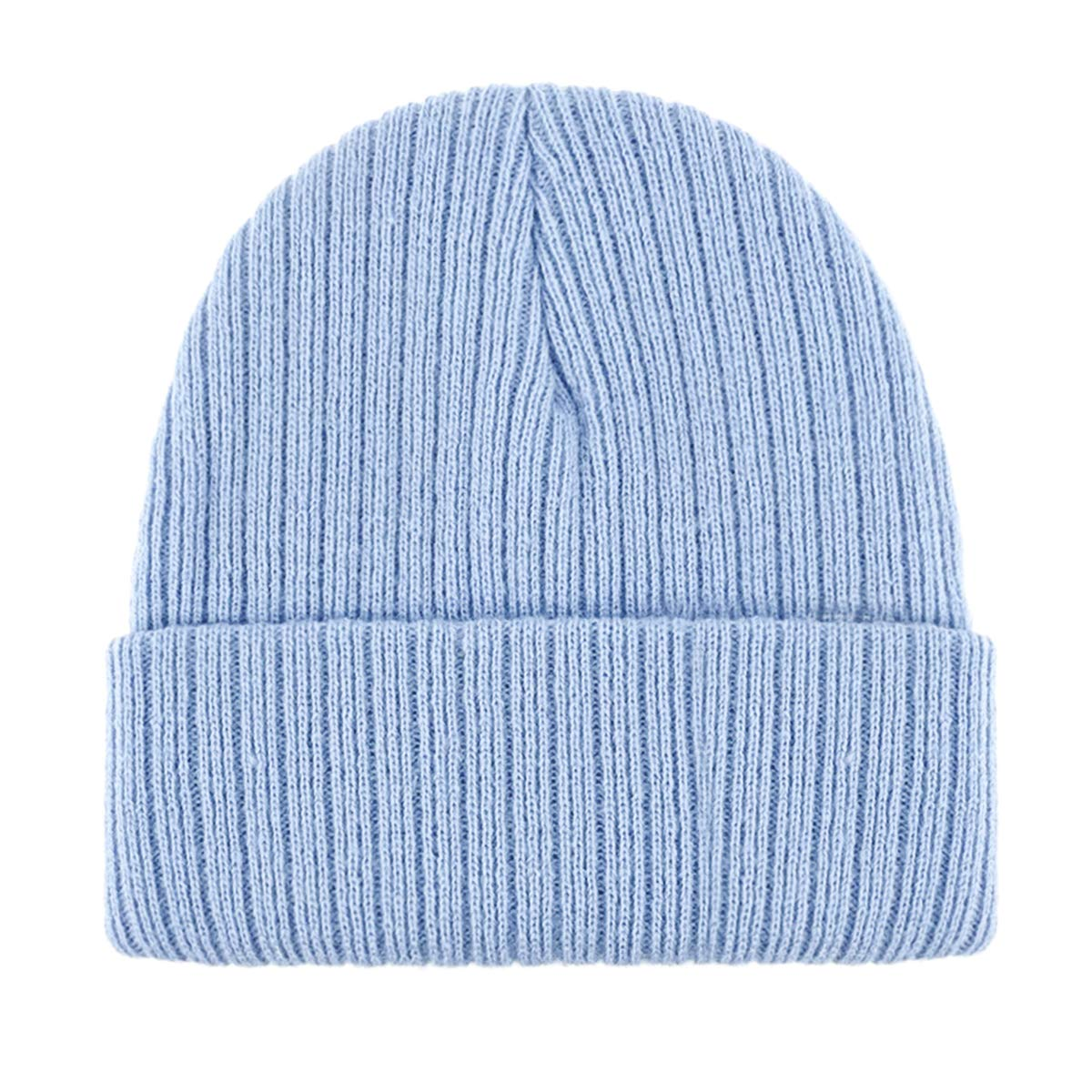 Lamdgbway Boys/Girls Baby Toddler Warm Cable Knitted Beanie Cap Cute Infant Winter Hat for 6M-3 Years Old