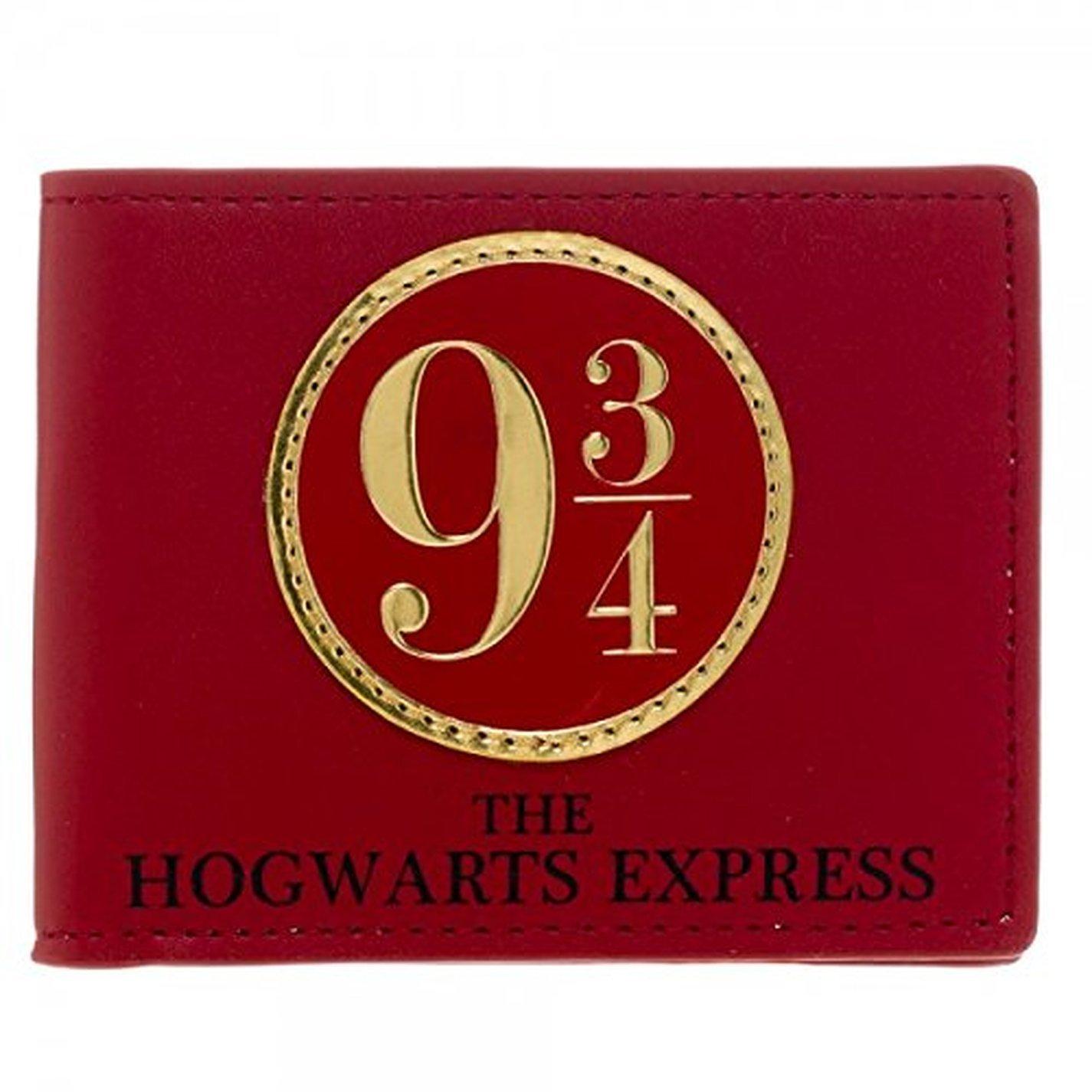 Wallet - Harry Potter - 9 3/4 Bi-Fold New Licensed Gifts mw1sichpt Bioworld MW1SICHPT00PP00