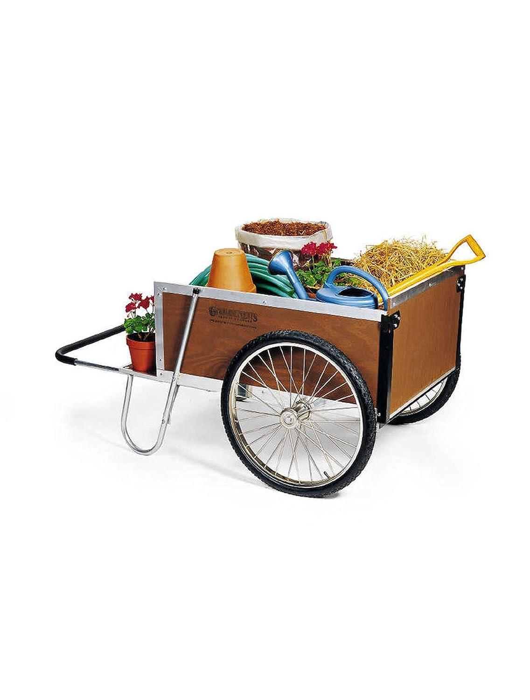 Gardener s Supply Garden Cart, Large, Brown
