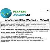 Abono Líquido Completo para Acuario (Macros + Micros) 500 ml