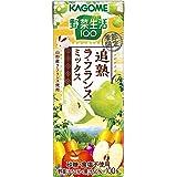 カゴメ 野菜生活100 追熟ラ・フランスミックス 195ml×24個
