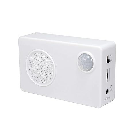 Amazon com: Mini PIR Motion Sensor- Welcome Alarm-Sound