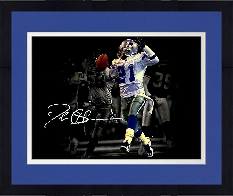 Fanatics Authentic Certified Framed Deion Sanders Dallas Cowboys Autographed 11 x 14 Return Spotlight Photograph