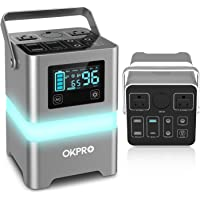 Deals on OKPRO Solar Generator Portable Power Station, 62500mA