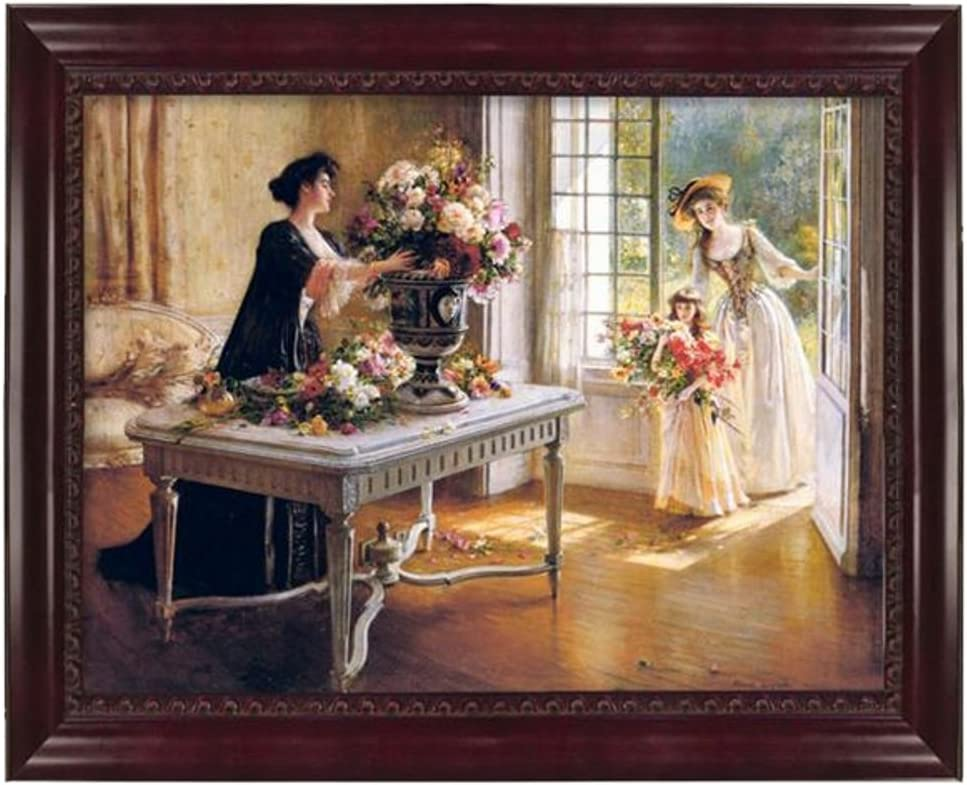 Victorian Trading Co. Fresh from The Garden Ladies Home Journal Albert Lynch