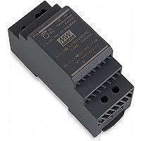 Meanwell HDR-30-24, 220 V, zwart