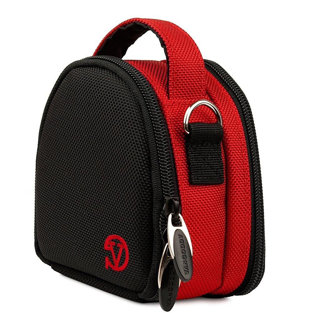 Red YI 4K Action Camera Top-Handle Handbag Camera Case by Vangoddy (Image #1)