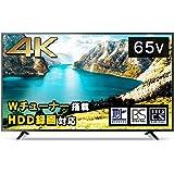 アイリスオーヤマ 65型 4K対応 液晶 テレビ 65インチ ブラック 65UB10P