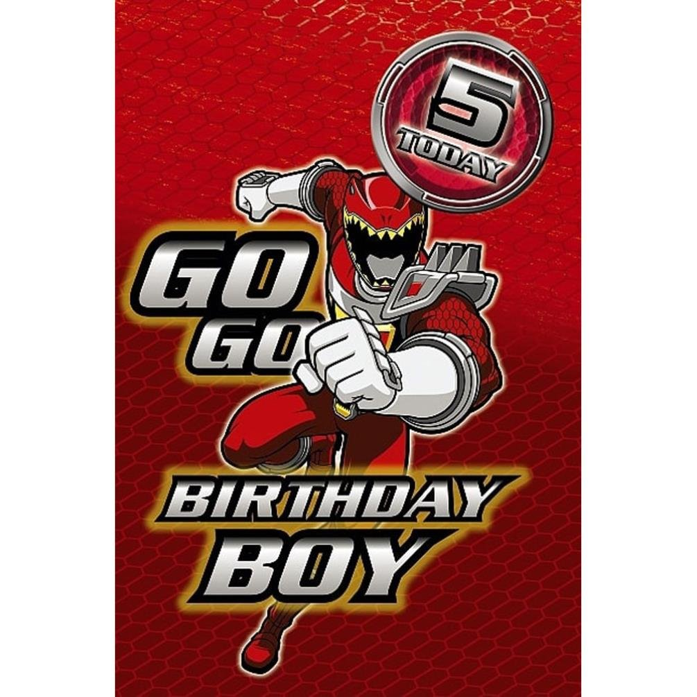 Power rangers greetings card 5th birthday amazon office power rangers greetings card 5th birthday amazon office products bookmarktalkfo Choice Image