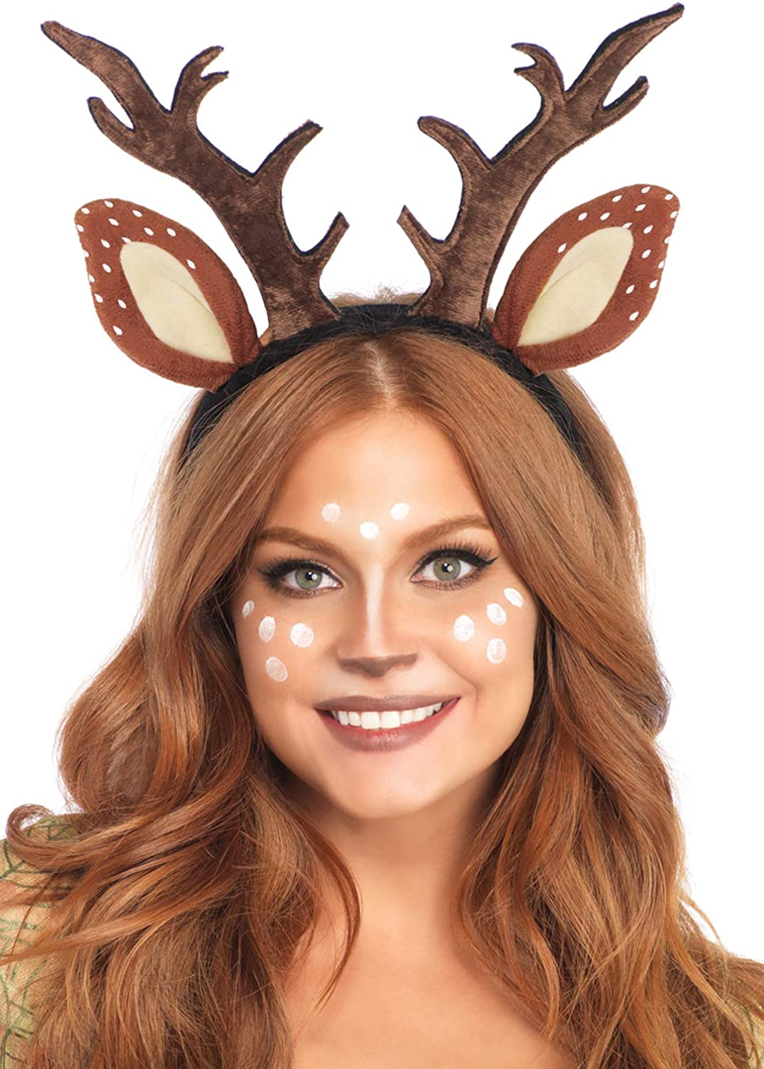 Leg Avenue Womens Fawn Horn Headband