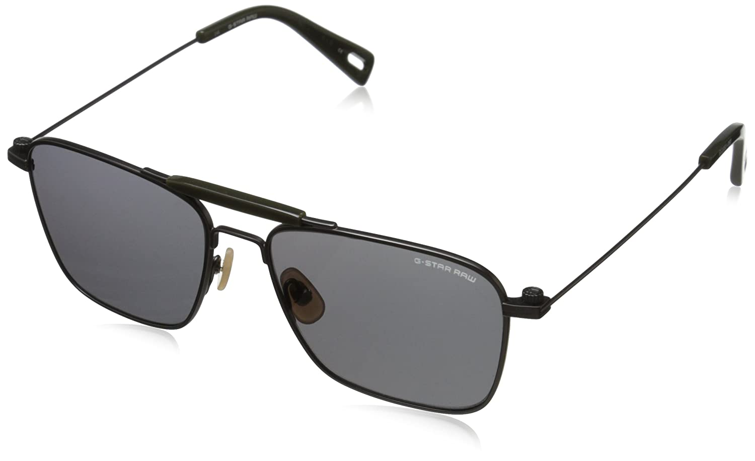 G Star Gafas de Sol GS-105S-060 (54 mm) Negro/Verde: Amazon ...