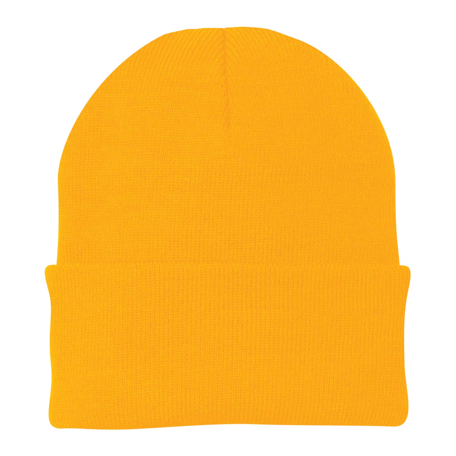 38b754fd5a9 Port   Company CP90 - Knit Cap (Athletic Gold) at Amazon Men s Clothing  store