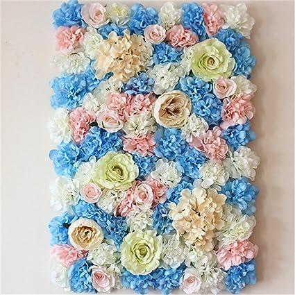 Amazon 40x60cm Artificial Silk Rose Flower Wall Decoration