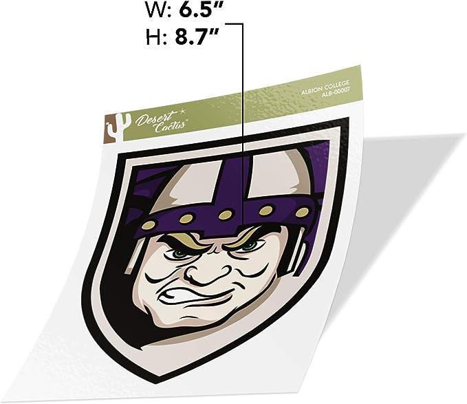 Albion College Britons NCAA Vinyl Decal Laptop Water Bottle Car Scrapbook Sticker - 00001