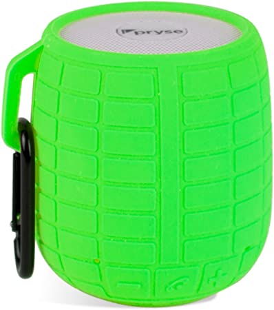 Pryse 9110002 - Mini Altavoz inalámbrico con Bluetooth (5 W) Color Verde