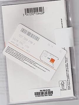 orange carte sim prépayée Carte Prépayée Orange (FR): Amazon.fr: High tech