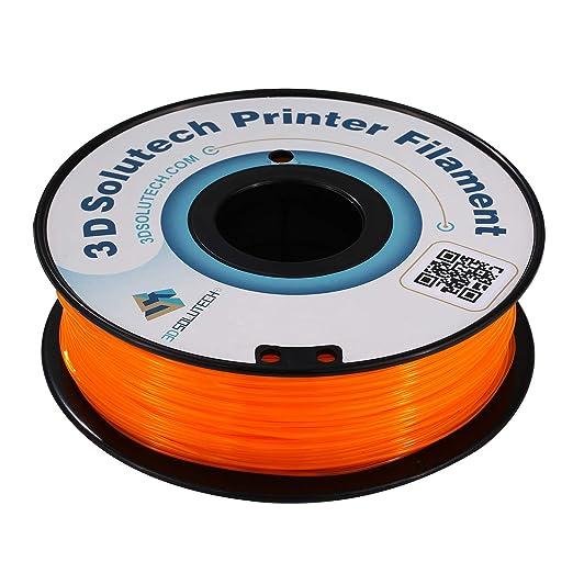 Amazon.com: 3D Solutech - Filamento flexible para impresora ...