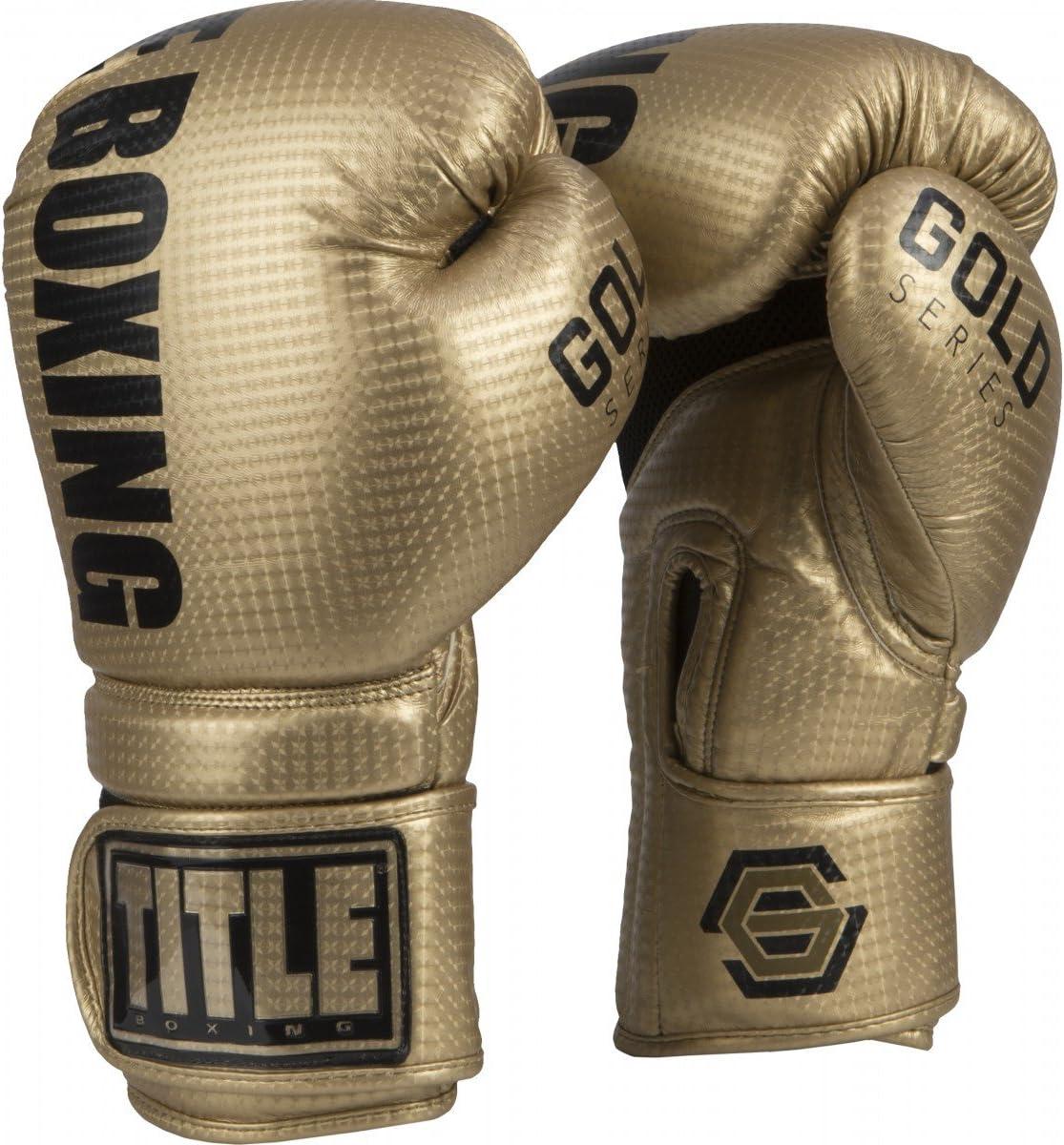 タイトルゴールドシリーズSurpassバッグ手袋 ゴールド 16 oz