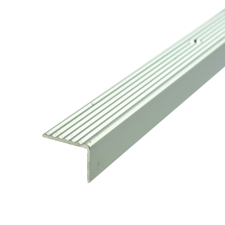 Stair nosing profile ALUMINIUM | 180cm 19x15mm | Aluminium Profiles for stairs … … Borck