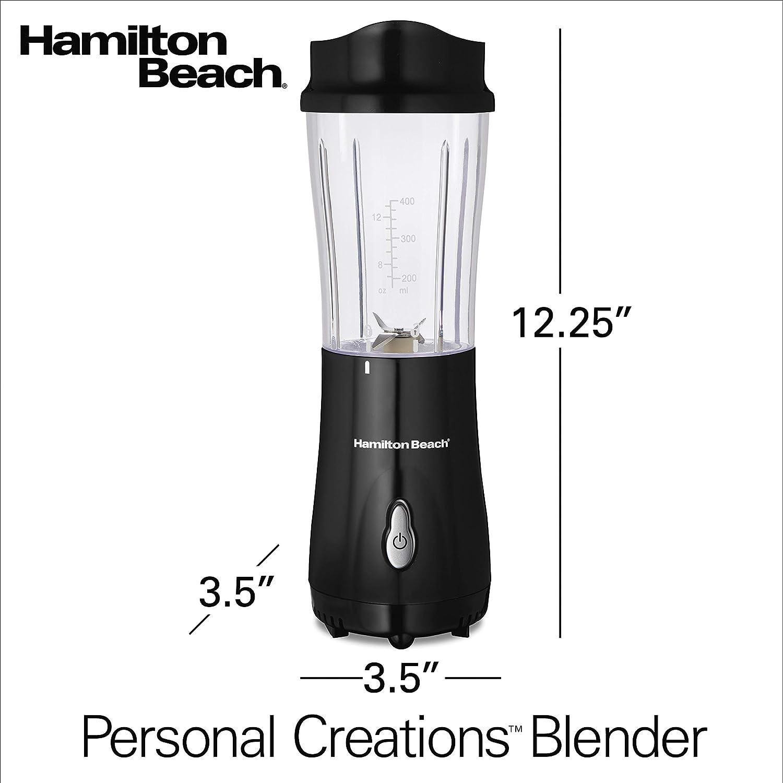 Hamilton Beach 51101B Batidora de vaso Negro - Licuadora (Batidora ...