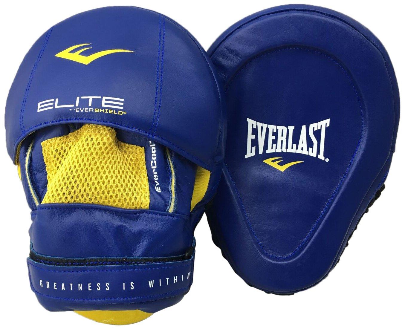 P00000700 One Size Everlast Pro Elite Mantis Mitts Box Item Unisex Blue