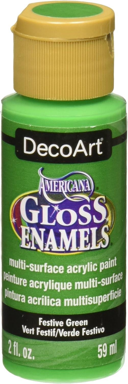 DecoArt Gloss Enamel Paint, Green