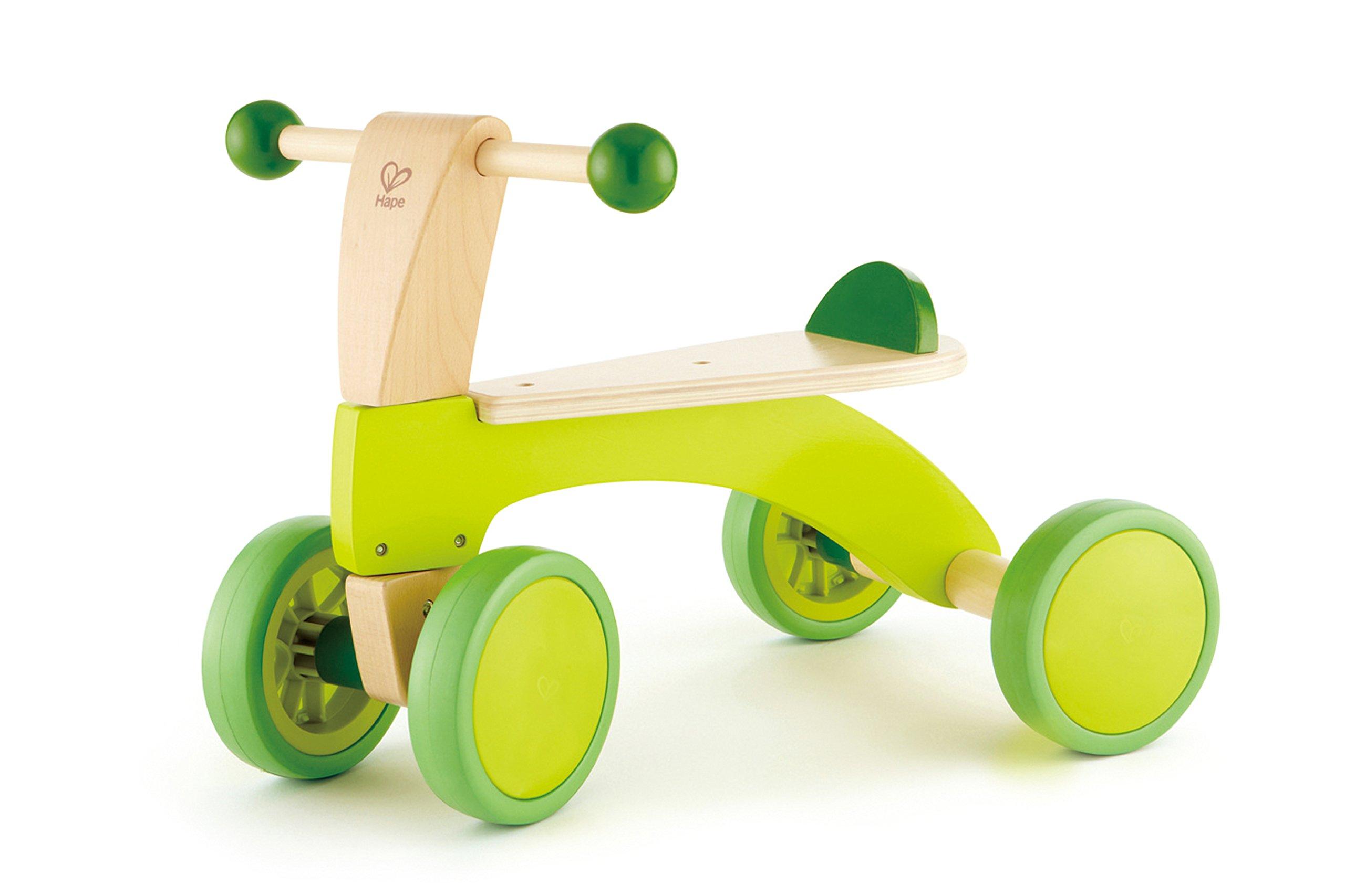 Hape Award Winning Scoot Around Kid's Wooden Ride On by Hape