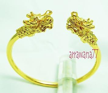 Amazoncom Dragon Thai Gold From Thailand 22k 23k 24k Thai Baht