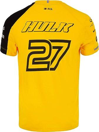 Camiseta Oficial del Equipo Renault F1 2019 Nico Hülkenberg #27 F1 ...