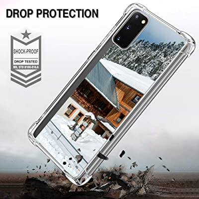 Fit for Samsung Galaxy S20 6.2in Austria Landscape Scenic Mountains Forest Trees #107933