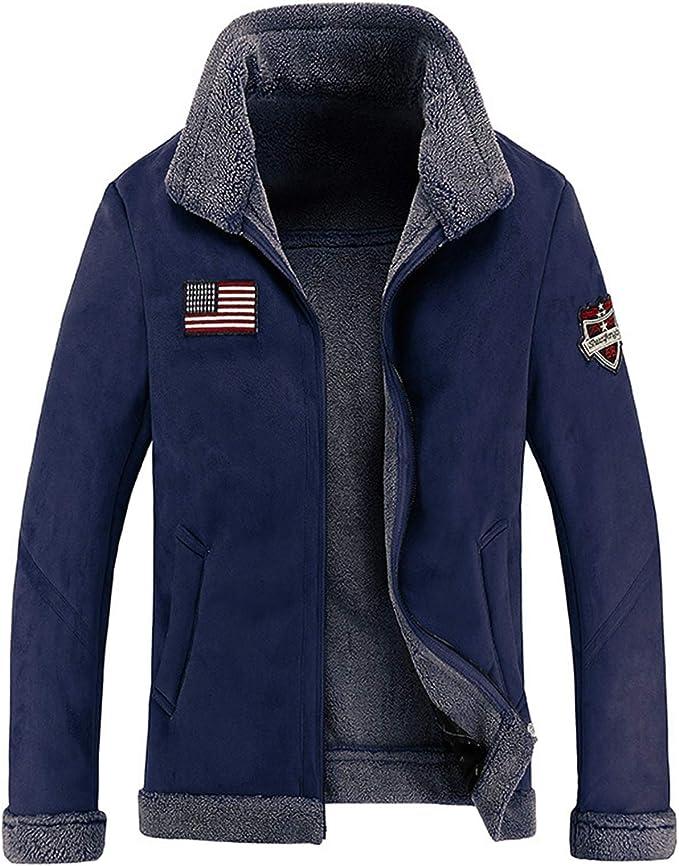 ライダースジャケット メンズスエード フリースジャケット ビジネス 秋冬 スタンドアップ ファー アウトドア ジップアップ もこもこ 起毛 ビンテージ調 お洒落 カジュアル 大きいサイズ m-4xl