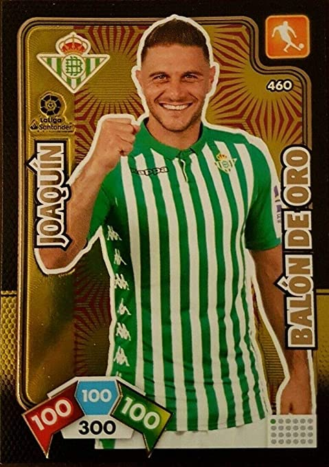 Panini Joaquin Balón de Oro Adrenalyn XL 2019-2020: Amazon.es ...