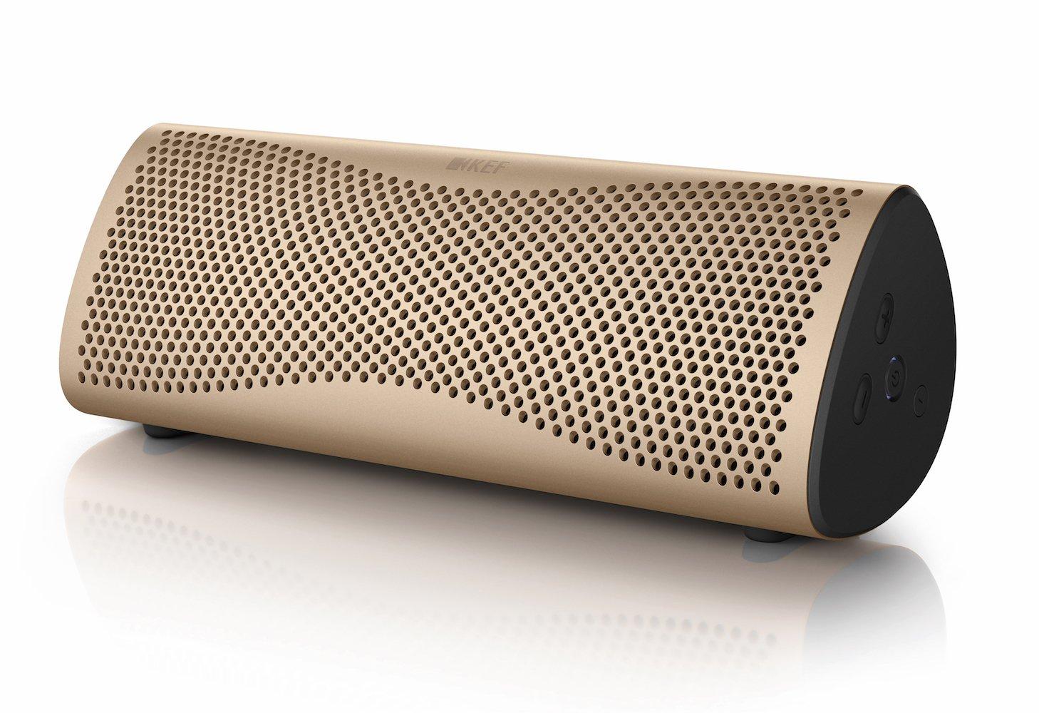 KEF MUO Wireless Bluetooth Speaker - Silver - MUOSILV
