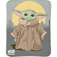 The Mandalorian Jay Franco and Sons Silky Soft Throw Star Wars The Child