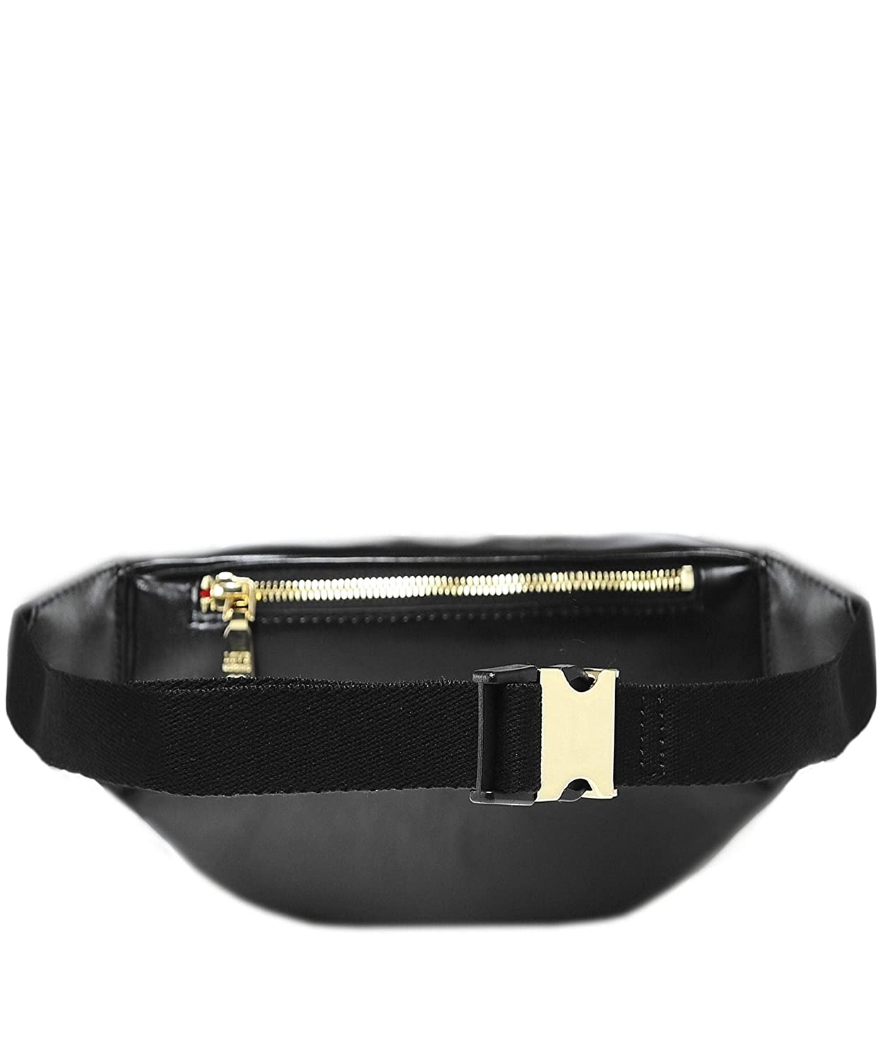 650d26eee682 Moschino Love Moschino Women s Quilted Bum Bag Black One Size   Amazon.com.au  Fashion