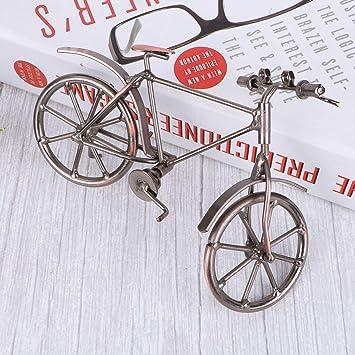 VORCOOL Iron Model Creative Retro Bike Travel Souvenirs Metal Crafts Decoration