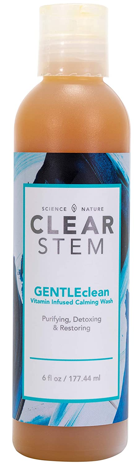 GENTLEclean - Vitamin Infused Skin Cleanser, Makeup & Oil Remover, Safe for All Skin Types, Non-toxic & Environment-friendly, Acne-safe and No Secret Pore Cloggers - Made in the USA - 6 fl oz.
