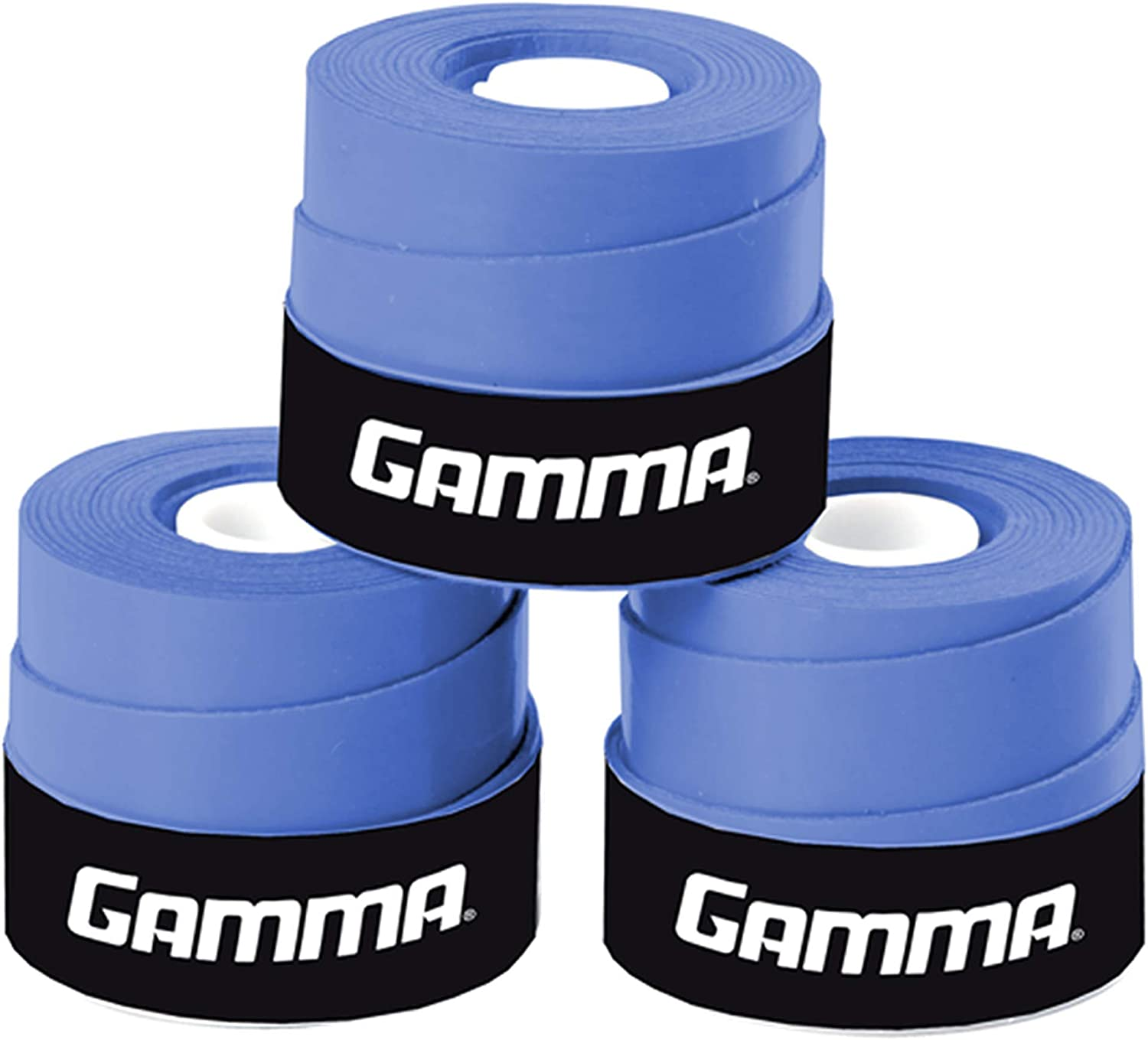 Gamma Supreme Overgrip, Blue : Tennis Racket Grips : Sports & Outdoors