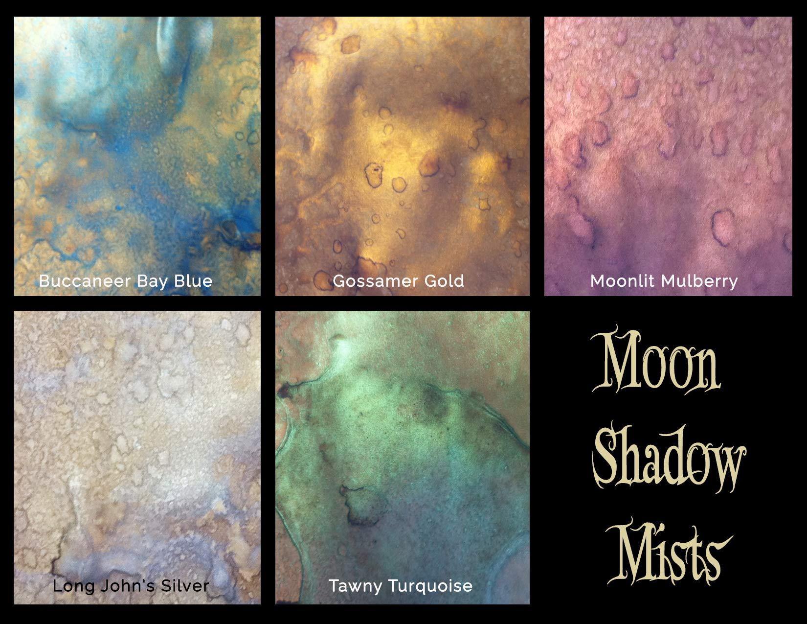 Lindy's Stamp Gang Moon Shadow Mist Set, Bottle, 2 oz, Pack of 5 …