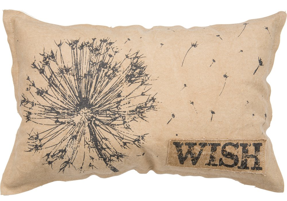 Dandelion decor Wish Pillow farmhouse pillow cottage pillow pillows for farmhouse style