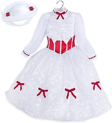 Amazon Com Disfraz De Disney Mary Poppins Para Niños Clothing
