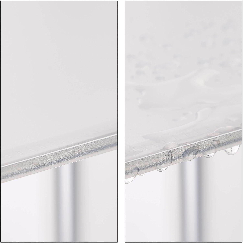 95.5x32x95.5 cm Relaxdays Estanter/ía Modular con Puertas Blanco