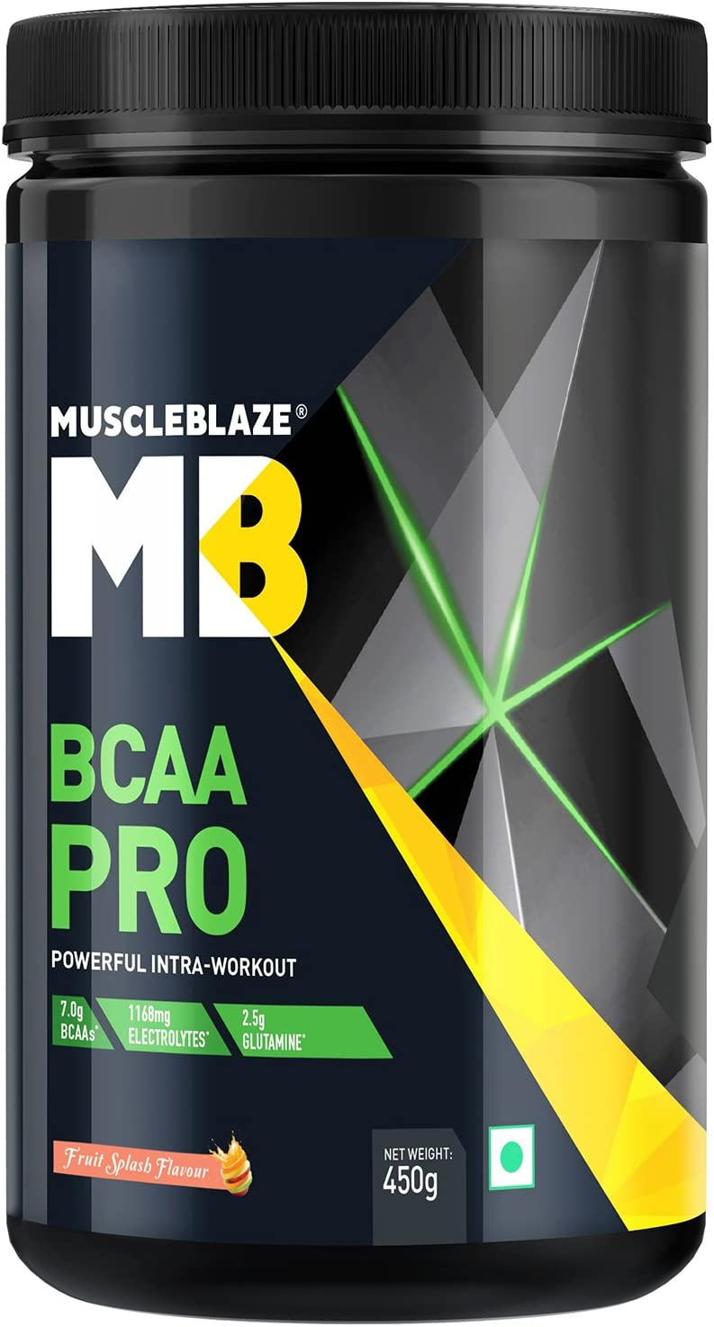 MuscleBlaze BCAA Pro - 450 g (Fruit Splash)