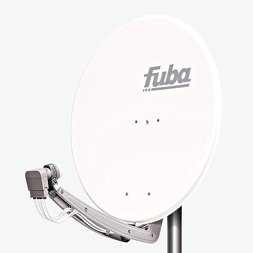 Fuba DAA 780 W - Antena (10.75-12.75 GHz, 780 mm, Color blanco, Aluminio)