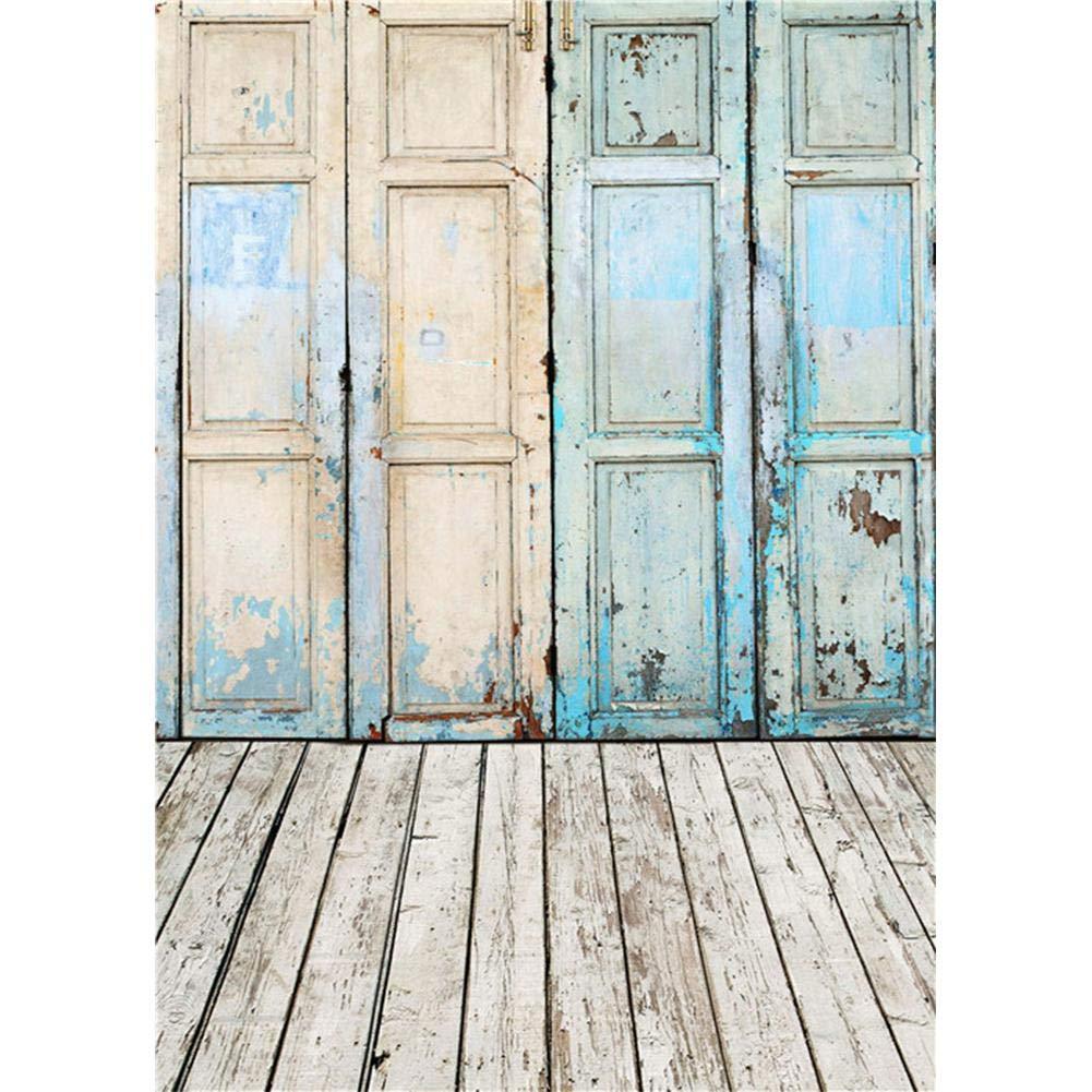 背景布 薄められたドア 写真 背景 スタジオ ビデオ 写真 背景 装飾  A B07MQ1VH9Y