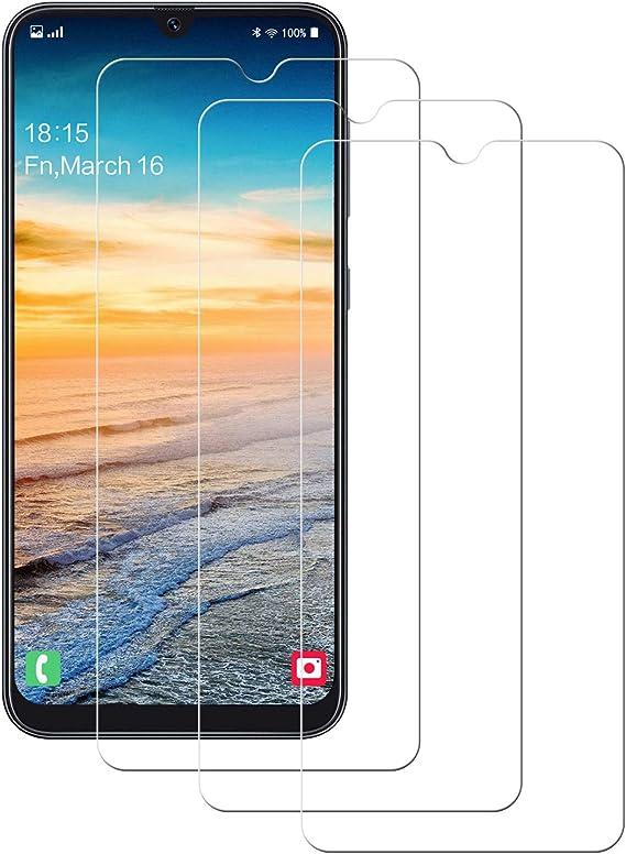 POOPHUNS Cristal Templado Samsung A70 2019,[3-Unidades] Protector ...