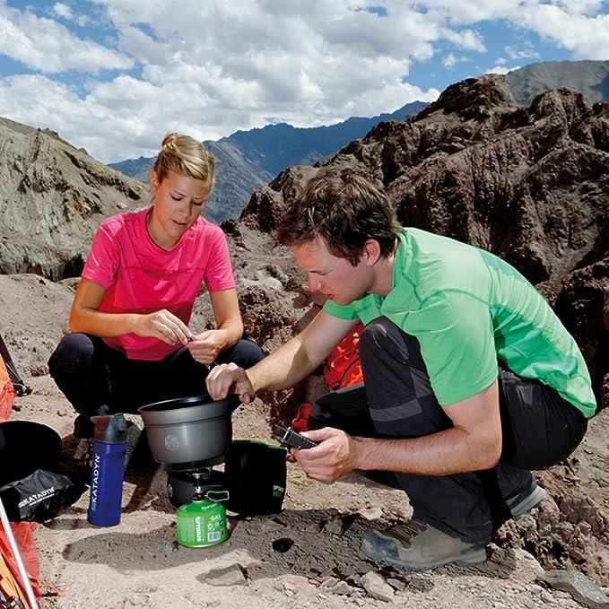 Amazon.com: Optimus Terra He 3 pieza cookset: Sports & Outdoors