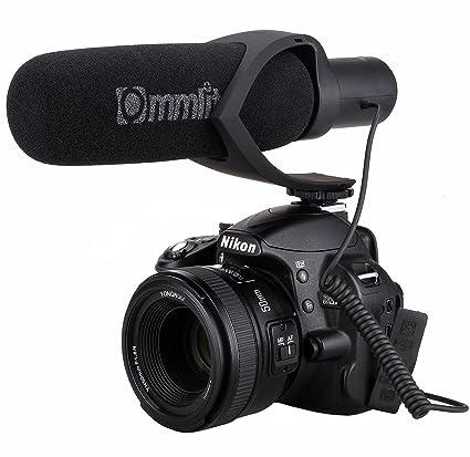 Zhiyou CVM-V30 Comica - Micrófono de cámara de fotos (condensador ...
