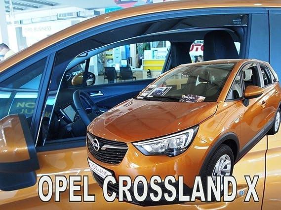 J/&J AUTOMOTIVE J/&J Deflectores de Viento para Opel Zafira C Tourer 5 Puertas 2012-pr/és 4 Unidades